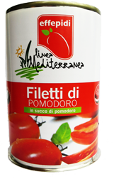 Linea mediterranea filetti di pomodoro