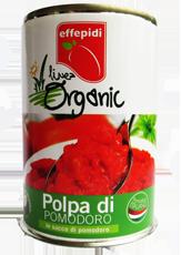 Linea organica polpa di pomodoro