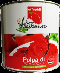 linea mediterranea polpa di pomodoro