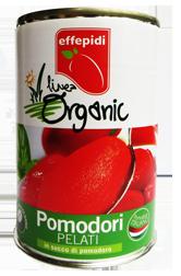 linea organic pomodori pelati